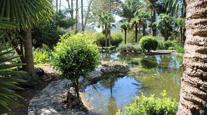 Gärten von Alfabia